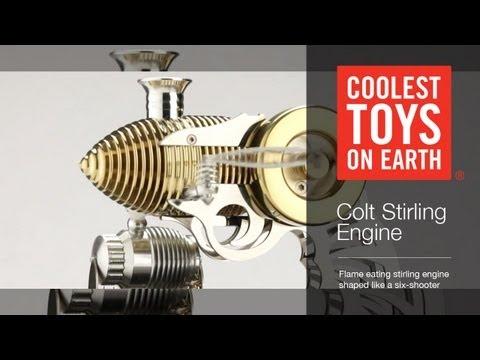 Flame Eater Colt Stirling Engine - Coolest Toys On Earth Cincinnati OH