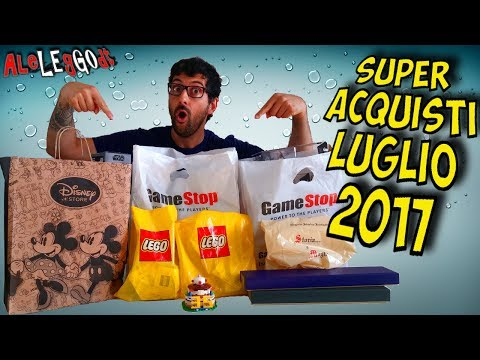 SUPER ACQUISTI [LUGLIO 2017] Lego Store, Disney Store, Gamestop Funko POP Harry Potter Star Wars