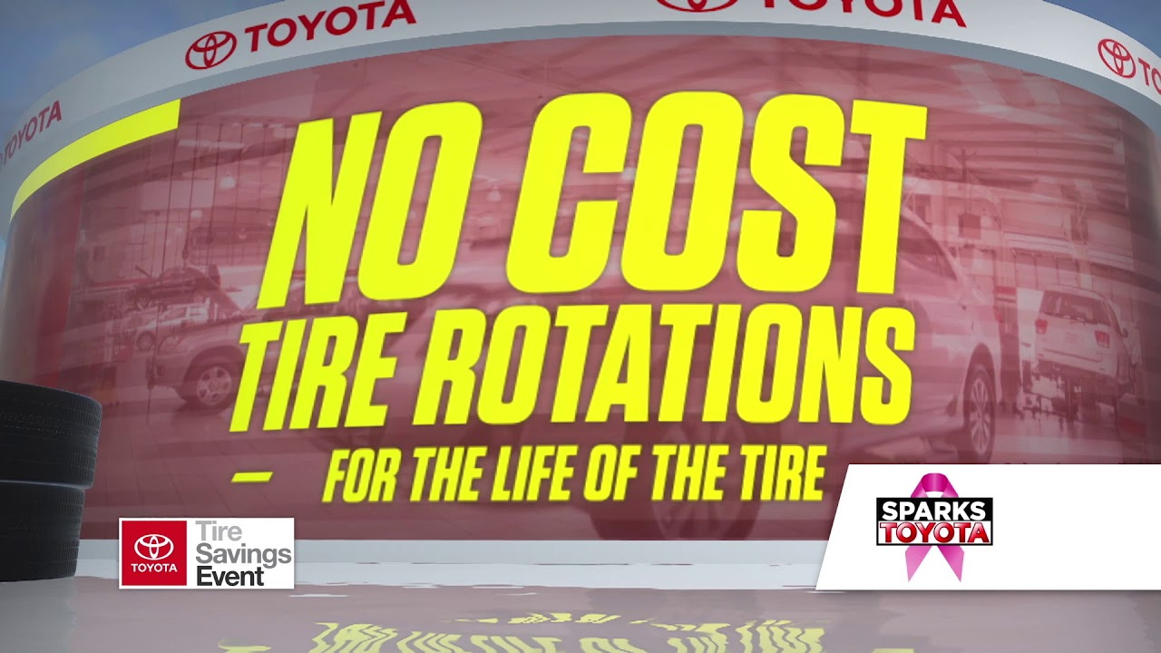 Sparks toyota october tire sale youtube