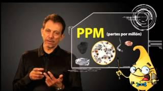 ¿Qué es mejor medir, partes por millón o código de contaminación sólida?