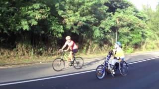 Hand-Cyclist  to circle Guam 前編