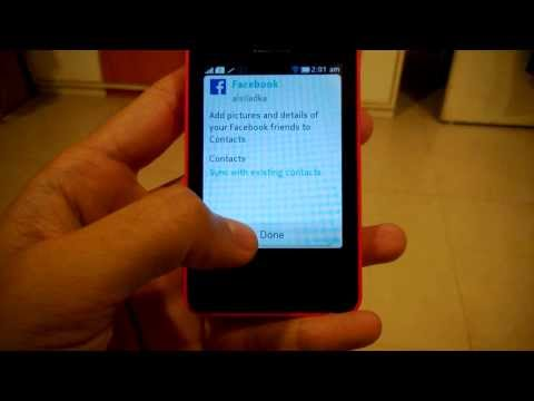 How To - Add Your Facebook Account To The Nokia Asha 501
