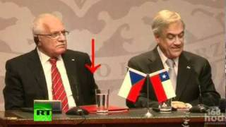 Video of Czech president Klaus