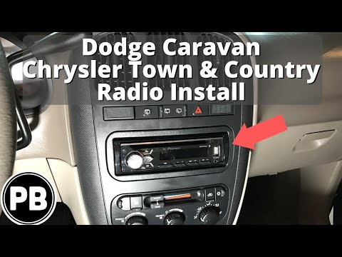 [DIAGRAM_38ZD]  2001 - 2007 Dodge Chrysler Caravan Town&Country Stereo Install Pioneer  AVH-X4900BT - YouTube | 2005 Dodge Grand Caravan Wiring Diagram Cd Player |  | YouTube