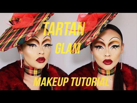 TARTAN GLAM! - MAKEUP TUTORIAL