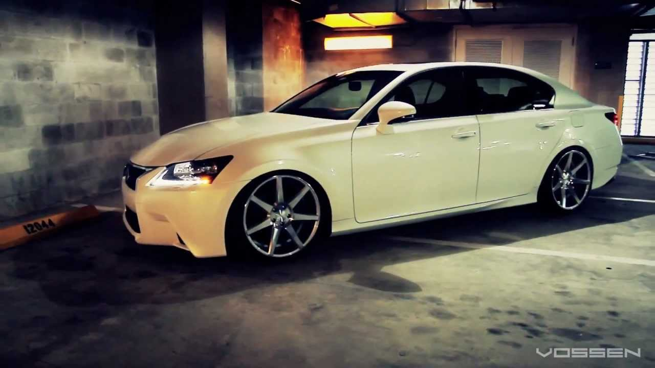2013 Lexus GS 350 On 20 Vossen YouTube