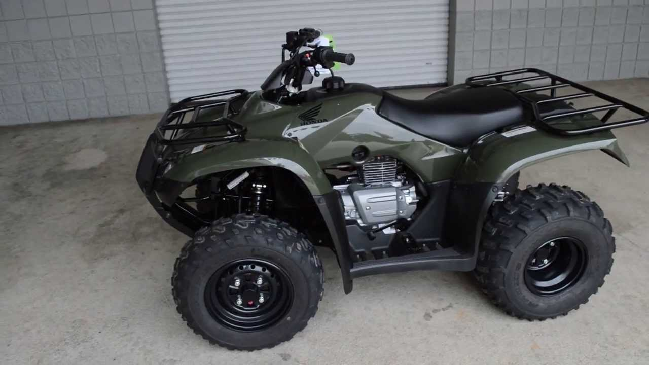2014 trx250tm recon sale honda of chattanooga tn atv dealer rh youtube com Honda TRX 450 Honda TRX 300