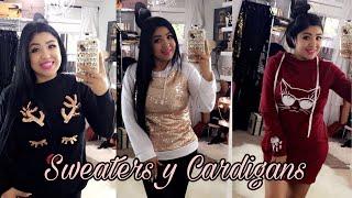 Sweaters y Cardigans Económicos de Tienda China / Invierno - ROSEGAL