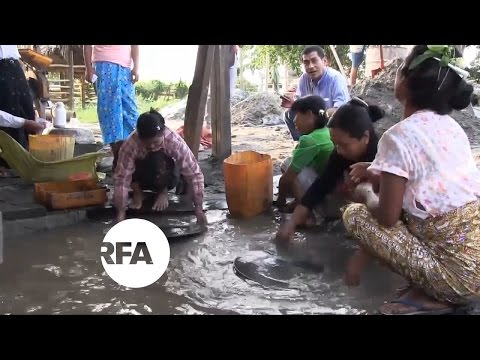 Myanmar Miners Strike Gold, But Don't Reap Fortune | Radio Free Asia (RFA)