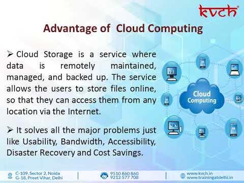 Best Cloud Computing training in Delhi