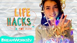 String Light Hacks | LIFE HACKS FOR KIDS