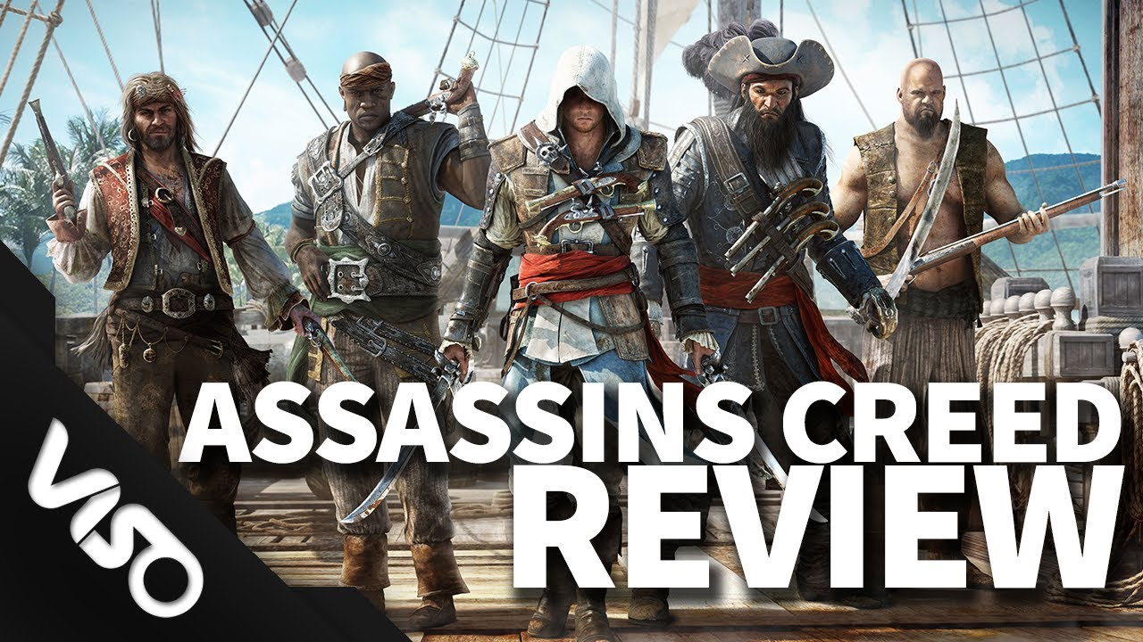 Assassins Creed 4: Black Flag Review Score: 8/10