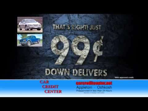 Car Credit Center 99 Cent Down Youtube