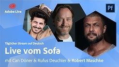 Portfolio Reviews mit Can, Rufus & Robert Maschke | Adobe Live