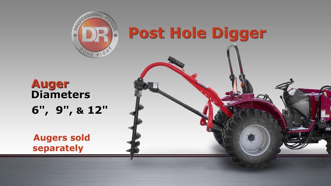DR Post Hole Digger
