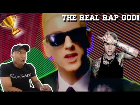 Eminem (Rap God) Better than (Rap Devil) [REACTION!!!]
