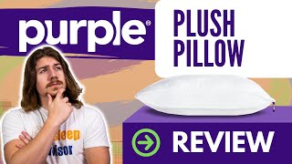 purple plush pillow review 2021 to zip or not to zip