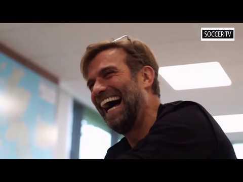 Klopp reacts to 'we've got Salah' song || Klopp réagit à la chanson 'nous avons Salah'