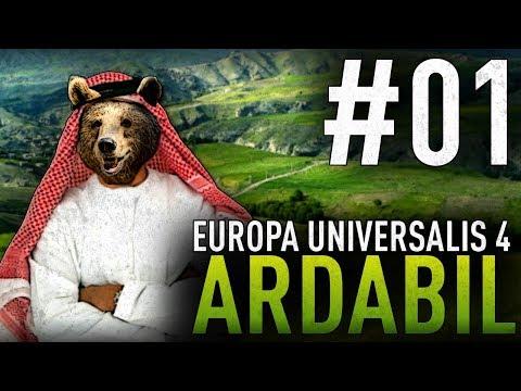 Europa Universalis IV IRONMAN: Ardabil #1 Waleczny Giligili