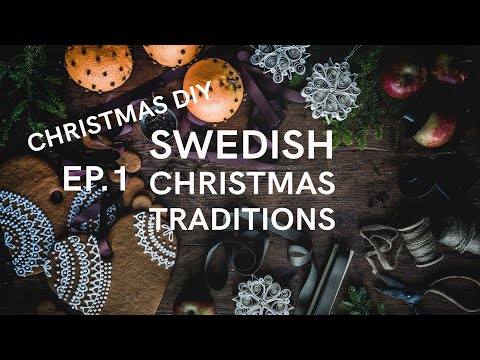 MY SWEDISH ADVENT CALENDAR #1 - CLASSIC CHRISTMAS DIY'S
