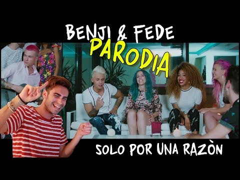 SOLO POR UNA RAZÓN - OFFICIAL REACTION Benji & Fede ft. Sweet California || YuriAle