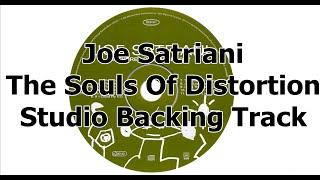 Joe Satriani - The Souls Of Distortion - Studio Backing Track ᴴᴰ