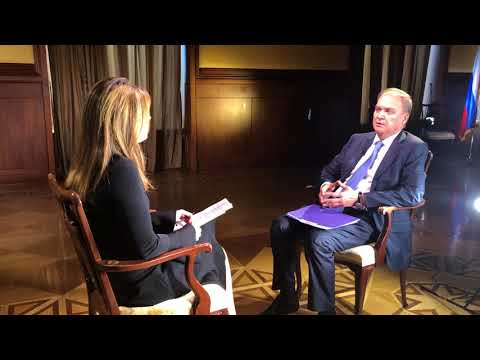 An exclusive interview of Russian Ambassador to the U.S. Anatoly Antonov on NBC