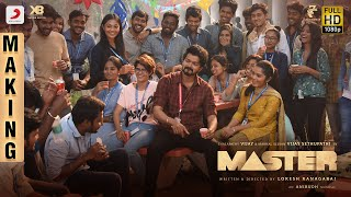 Master - Making Video | Thalapathy Vijay | Vijay Sethupathi | Anirudh | Lokesh