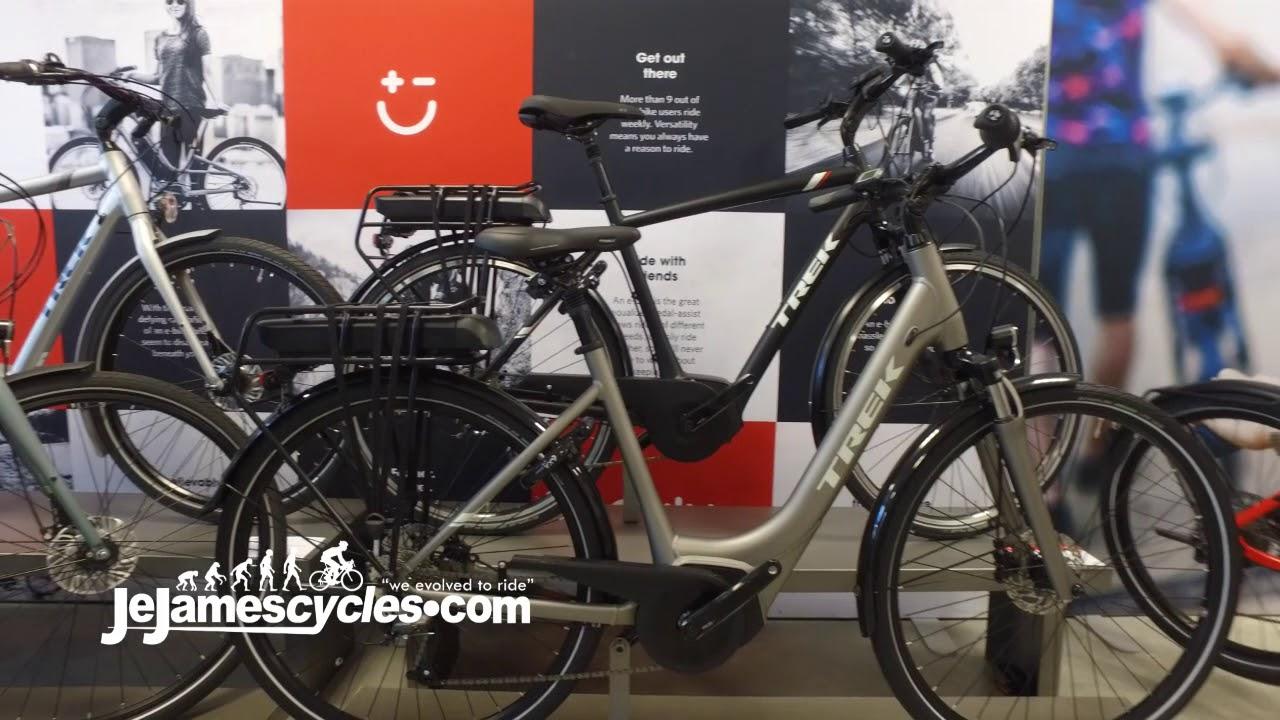 83bd34b8cd3 Trek TM1 Electric Bike 2018 - YouTube