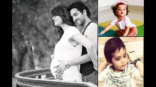 ayushman khurana with his wife and two kids