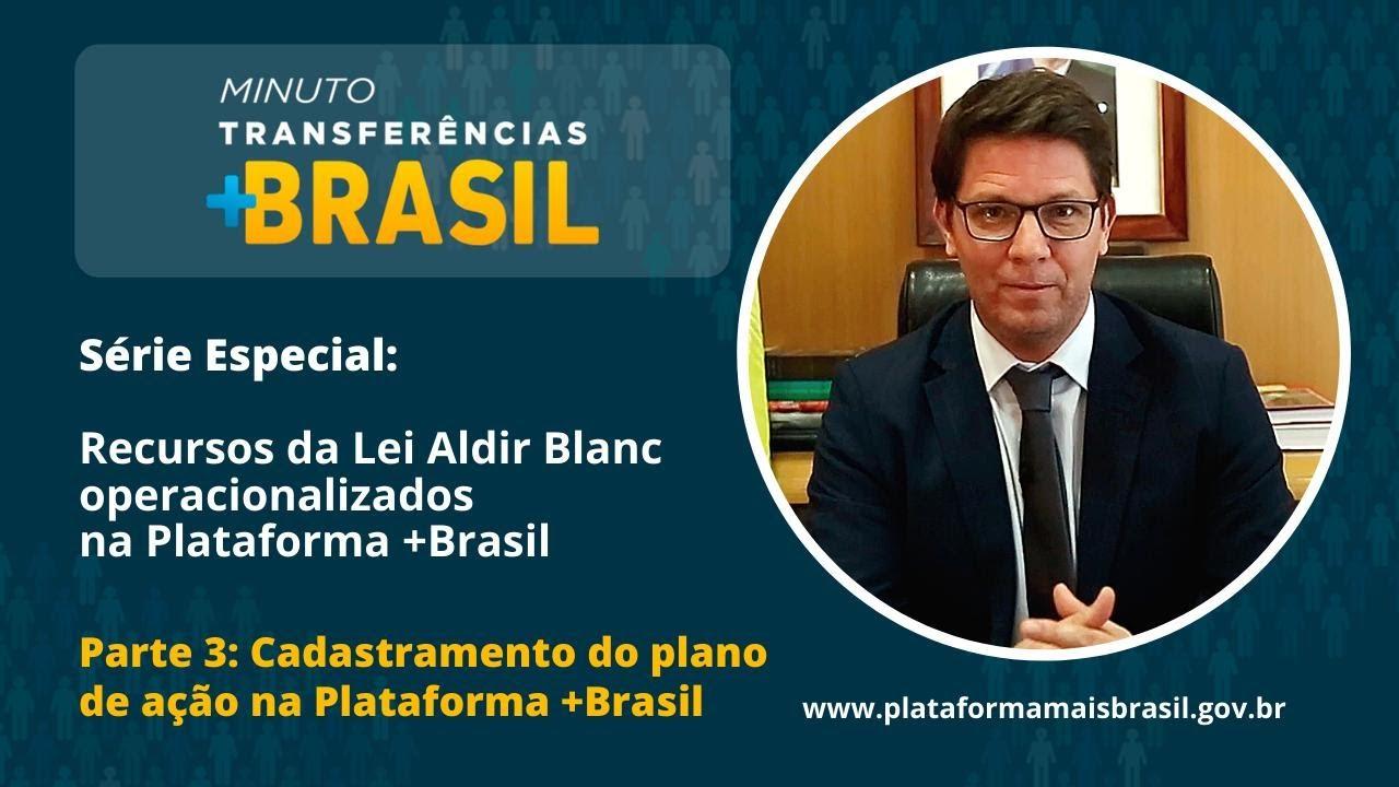 Série Especial: Lei Aldir Blanc na Plataforma +Brasil Ep.3 | Minuto Transferências +Brasil