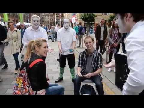 Merchant City - SURGE Festival Street theatre show Service Waiters