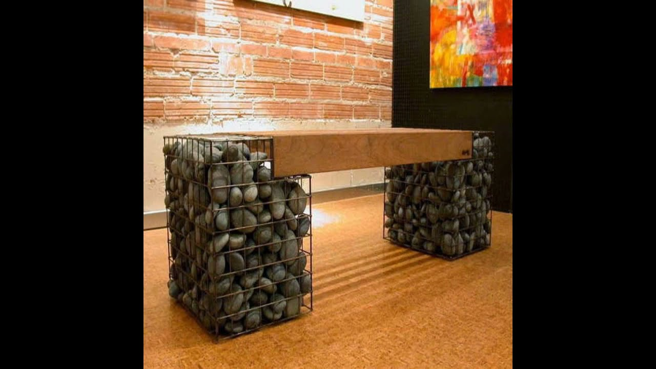 Gaviones decorativos youtube for Fabricacion de jardines