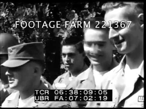 Little Rock Central High School Integration Enforcement, 29Sep-0ct0157  221367-06.mp4   Footage Farm