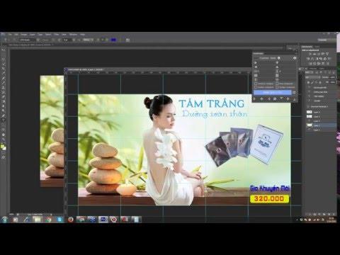 Hướng dân cắt ghép hình ảnh sản phẩm trong Photoshop