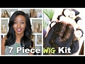 How To: 7 Piece Brazilian Body Wave Wig With Lace Closure:  Mane Concept Trill Virgin Hair