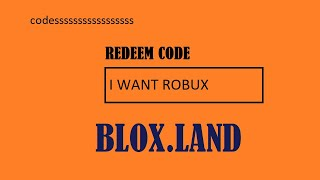 Promo Codes For Blox Land January 2020 Preuzmi