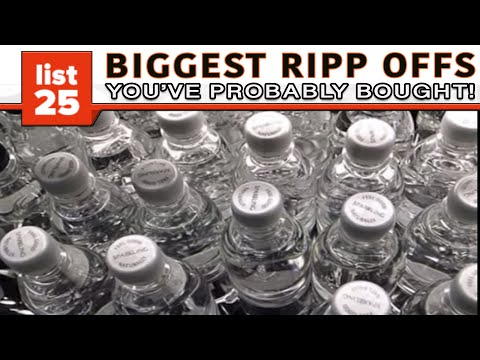 25 Biggest Rip Offs That You've Probably Been Tricked Into Buying from YouTube · Duration:  6 minutes 33 seconds