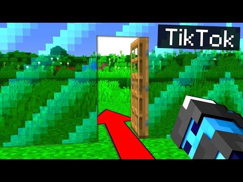 PROVO 8 TIKTOK SU MINECRAFT 1.17 - ITA