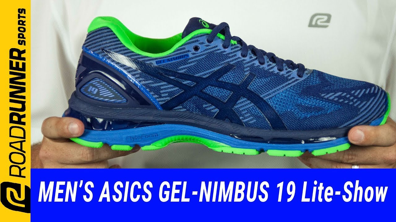 Men's ASICS GEL-Nimbus 19 Lite-Show | Fit Expert Review