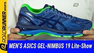 hot sales 8c425 2e7fe Asics Gel-Nimbus 19 Lite-Show Running Shoe - Men's Reviews + ...