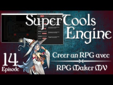 C1R] Tutoriel Rpg Maker Mv - Ep  14 : Super Tools Engine - YT