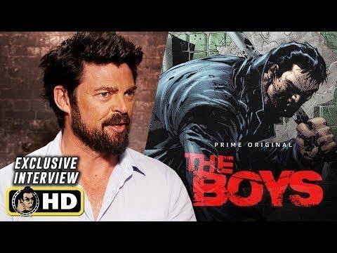 Karl Urban Interview For Amazon's The Boys (2019)