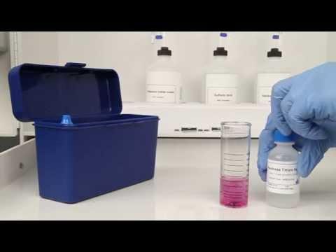 Calcium Hardness Drop Count Test Kit
