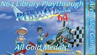 [2/296] Pilotwings 64 Longplay All Gold Medals