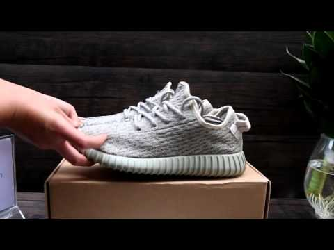 "Adidas Yeezy 350 Boost ""Silver"" HD Review From solegeneral.cn - YouTube a2536f6c9"
