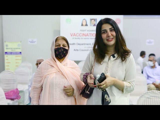 Areeba Habib | Covid-19 Vaccination Centre | Arts Council Karachi #acpkhi #artscouncil #covid_19