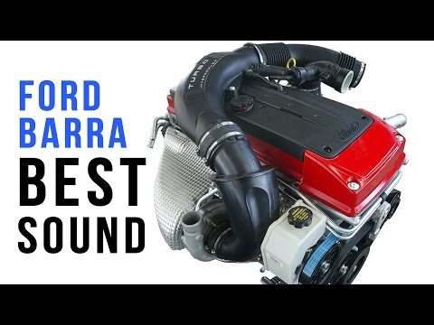 BEST Ford Barra turbo sound compilation