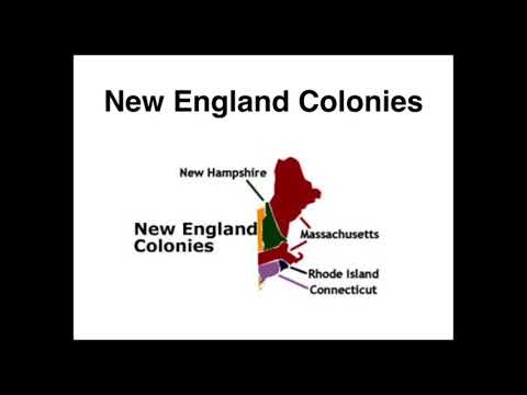 13 Colonies Overview