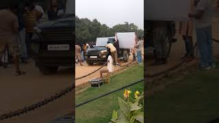 shooting#Nanu ki janu#    movie shooting  in delhi  @abhay deol